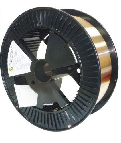 Сварочная проволока CuSi3 (БрКМц3-1) D=1,0 мм, 15 кг
