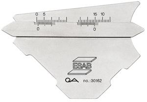 Шаблон сварщика KL-1 и KL-2 ESAB Fillet Gauge