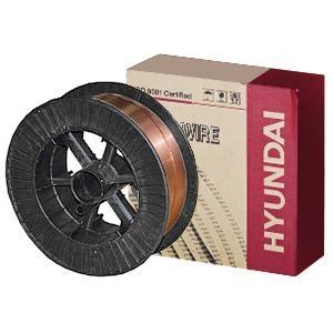 Проволока омедненная Hyundai SM 70 (ф 1,2 мм, касс. 15 кг, аналог СВ-08Г2С), кг